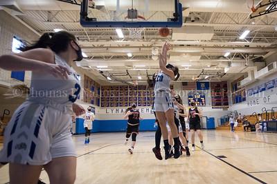 Lyman Memorial High School Girls Basketball vs Tourtellotte (ECC North Playoffs play-in round)