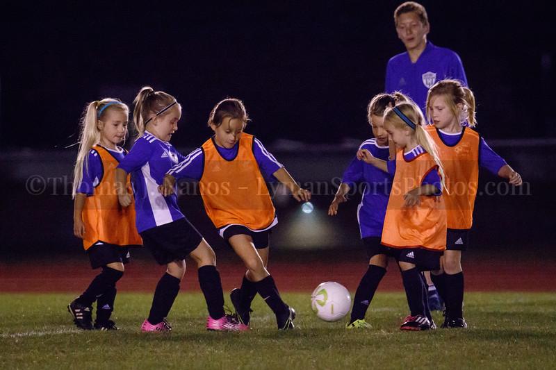 Lebanon Junior Soccer at halftime - Lyman Memorial High School Girls Soccer vs St. Bernards
