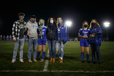 2020-10-23 vs St. Bernard (Senior Night)
