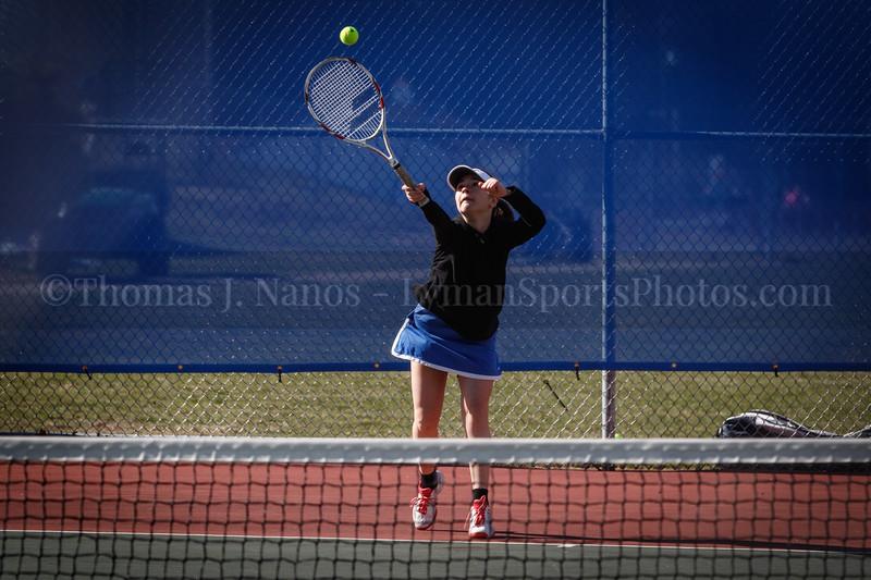 Lyman Memorial High School Girls Tennis vs Windham/Windham Tech