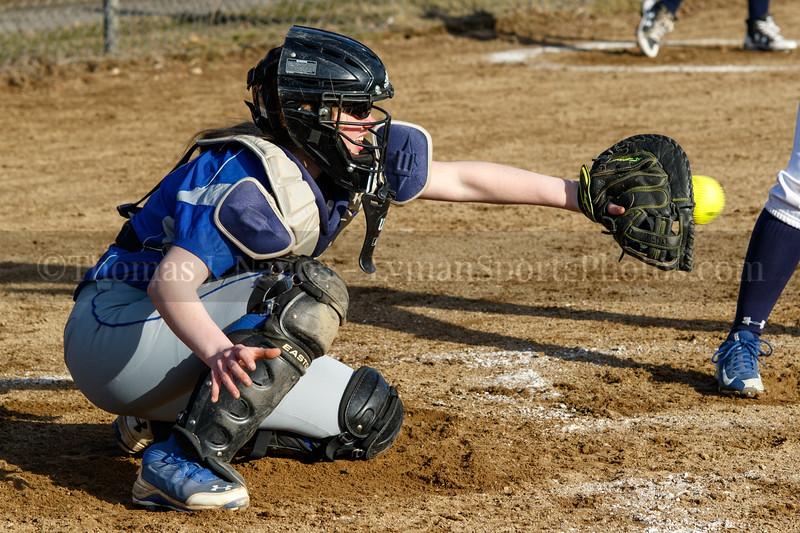 Lyman Memorial High School Varsity Softball vs. Woodstock
