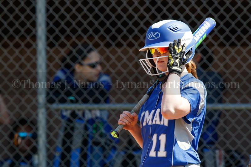 Lyman Memorial High School Softball (Varsity) at East Hampton