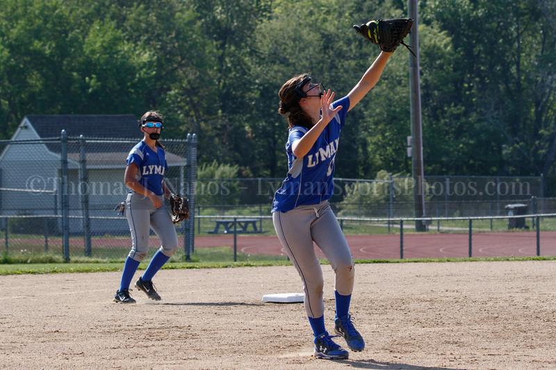 Lyman Memorial High School JV Softball vs Griswold