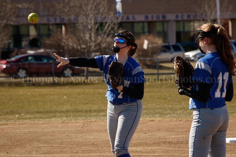 Lyman Memorial High School Softball vs Somers
