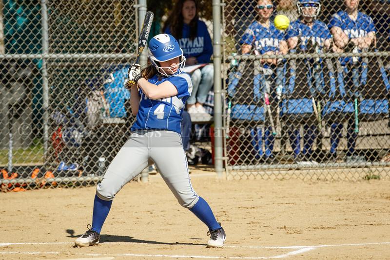 Lyman Memorial High School Softball at Griswold