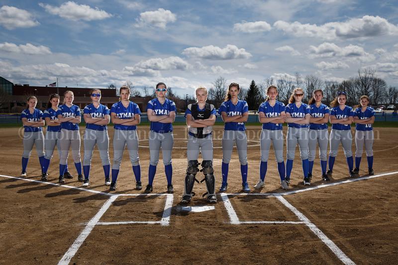 Lyman Memorial High School Softball - Varsity