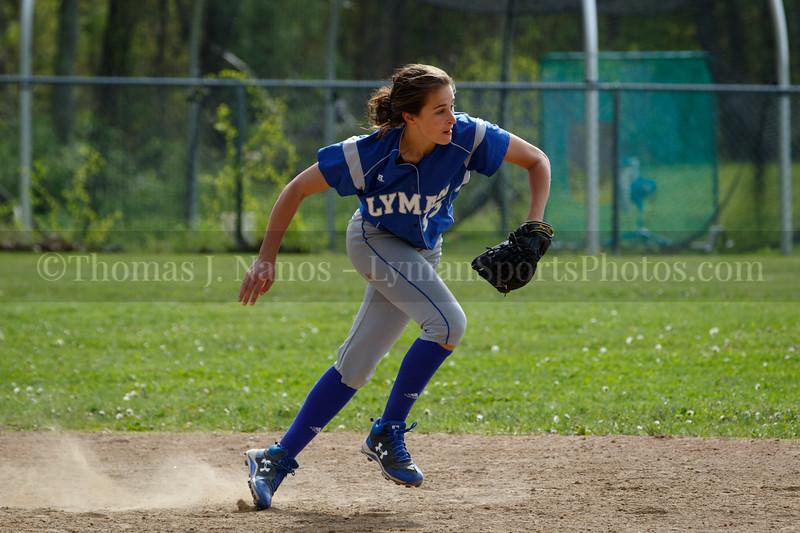 Lyman Memorial High School Softball at Ledyard