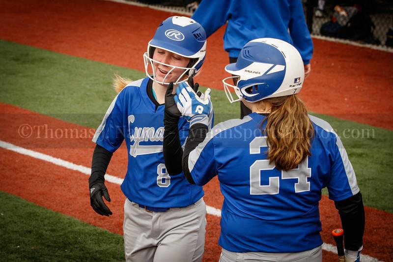 Lyman Memorial High School Softball at Capital Prep