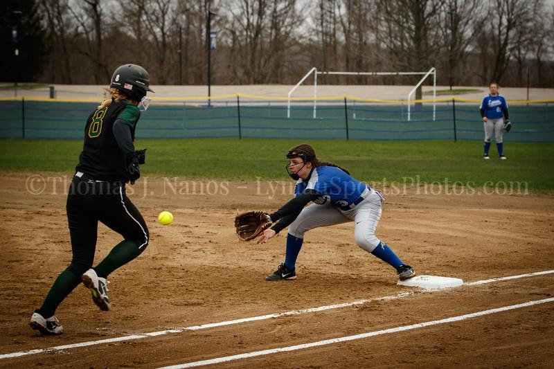 Lyman Memorial High School Softball vs Coventry