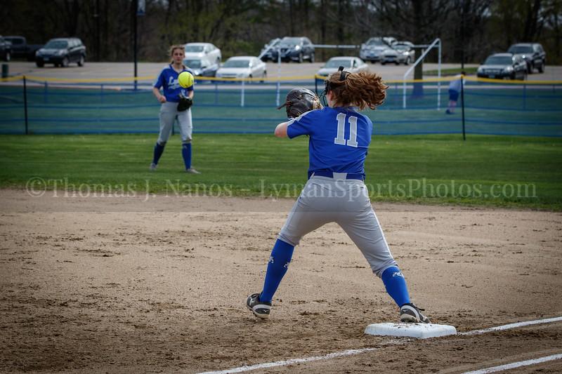 Lyman Memorial High School Softball vs Tourtelotte