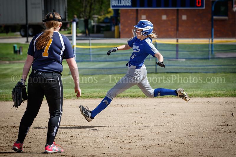 Lyman Memorial High School Softball vs Norwich Tech