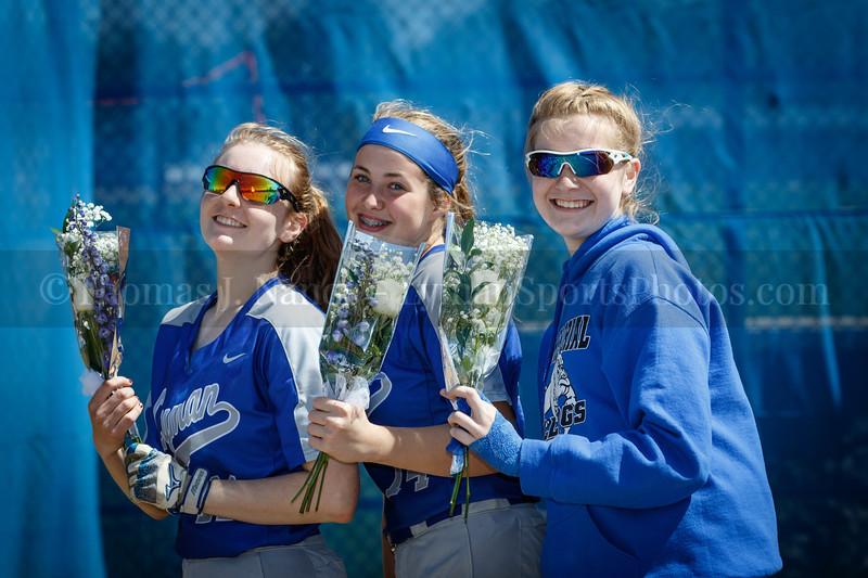 Lyman Memorial High School Softball vs Putnam (Senior Day)