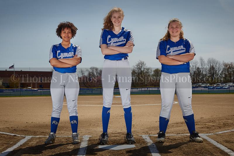 2019 Lyman Memorial High School Softball - Freshmen