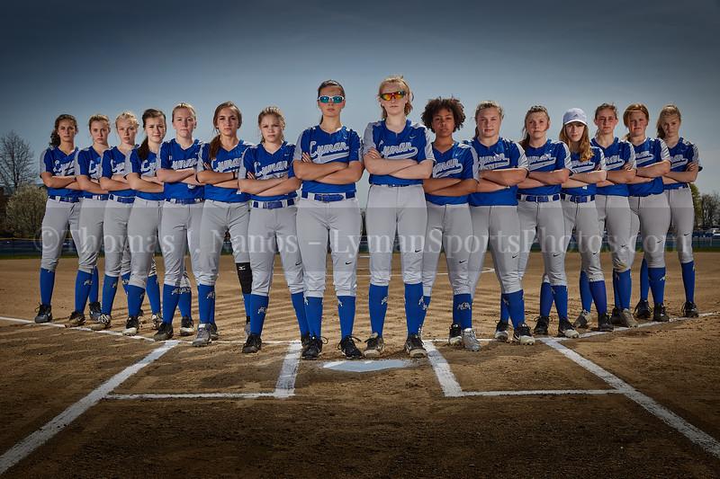 2019 Lyman Memorial High School Softball