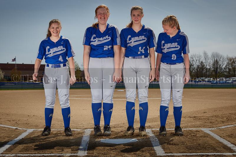 2019 Lyman Memorial High School Softball - Sophomores