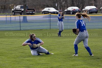 Lyman Memorial High School Softball vs Griswold