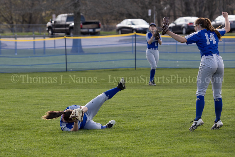 Lyman Memorial High School Softball vs Griswold