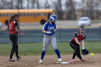 Lyman Memorial High School Softball vs Tourtellotte
