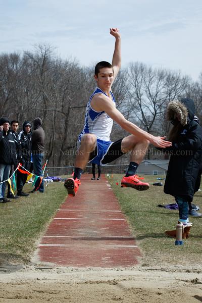 Lyman Memorial High School Outdoor Track at the Bellringer Invitational (East Hampton)