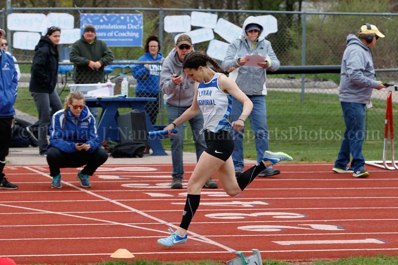 Lyman Memorial High School Boys & Girls Outdoor Track vs. St. Bernards