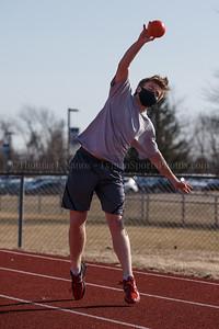 Lyman Memorial High School Boys & Girls Indoor Track practice (outside)