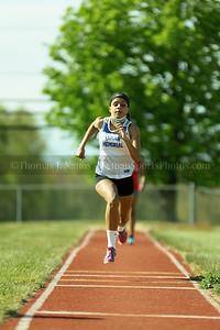 Lyman Memorial High School Track vs St. Bernard