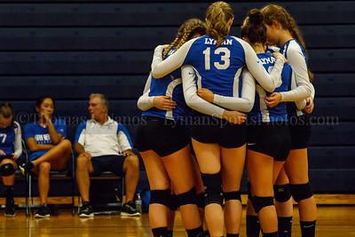 Lyman Memorial HS Varsity Volleyball at Windham