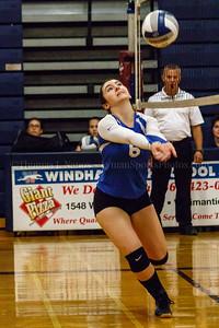 Lyman Memorial HS Junior Varsity Volleyball at Windham