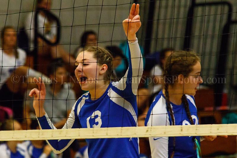 Lyman Memorial High School Varsity Volleyball vs. Bacon Academy