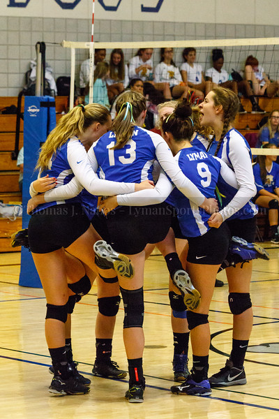 Lyman Memorial High School Varsity Volleyball vs. Bacon Academy