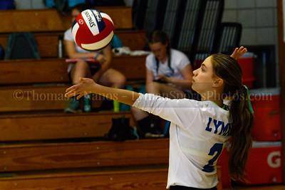 Lyman Memorial High School Junior Varsity Volleyball vs. Bacon Academy