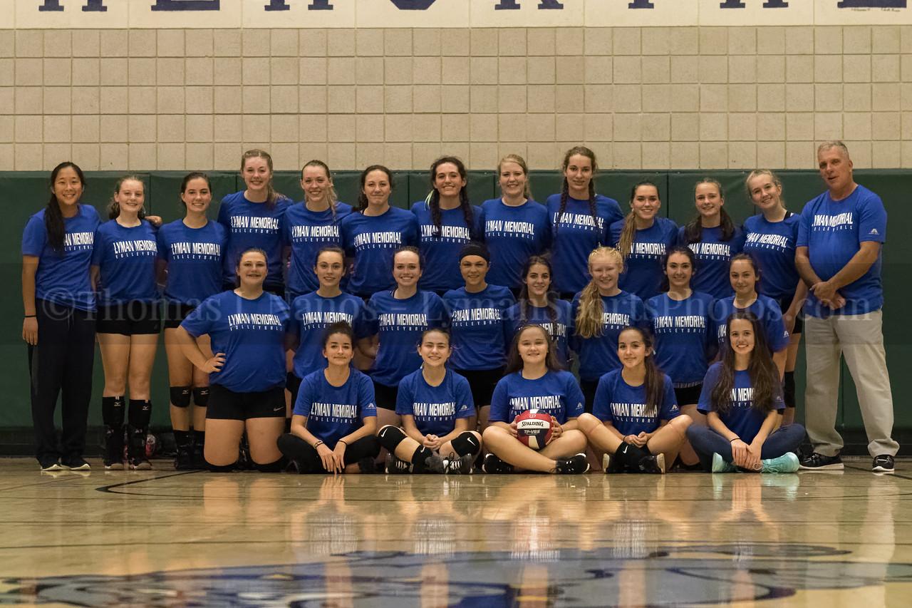 Lyman Memorial High School Volleyball Team