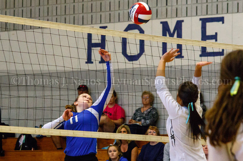 Lyman Memorial High School Junior Varsity Volleyball vs. Bacon Academy