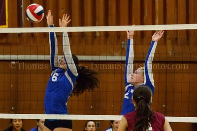 Lyman Memorial High School Junior Varsity Volleyball at Granby