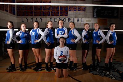 2016 Lyman Memorial High School Vollebyall - Junior Varsity