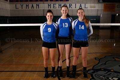 2016 Lyman Memorial High School Vollebyall - Seniors