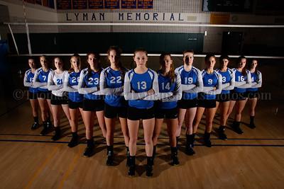 2016 Lyman Memorial High School Vollebyall - Varsity