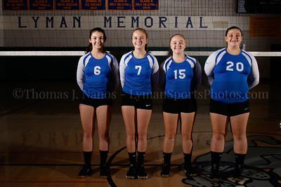 2016 Lyman Memorial High School Vollebyall - Sophomores