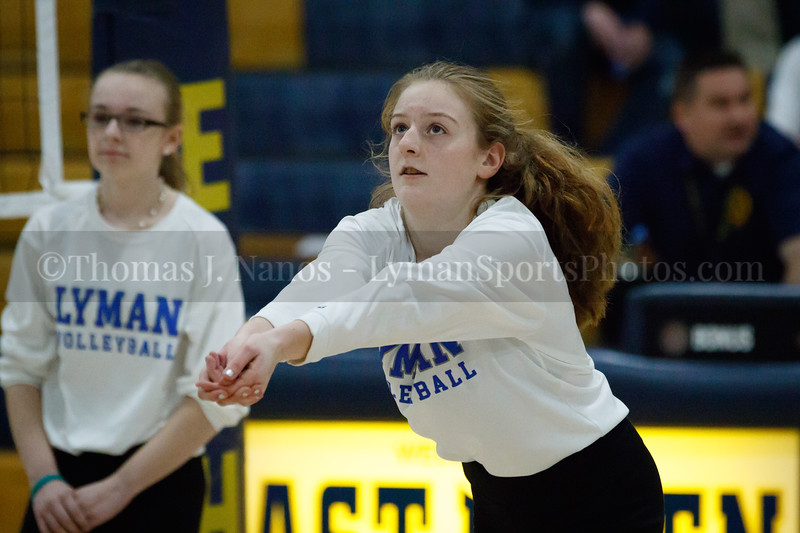Lyman Memorial High School Volleyball vs Coventry (CIAC Class S Tournament Finals)