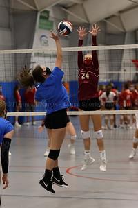 Lyman Memorial High School Volleyball at CIAC Early Season Tournament - Woodbridge, CT (Varsity)