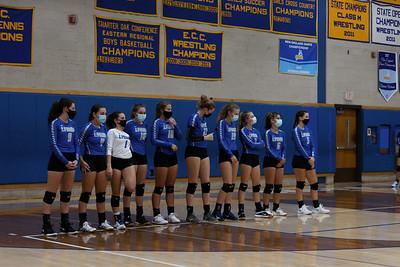 Lyman Memorial High School Volleyball at Bacon Academy (Varsity)