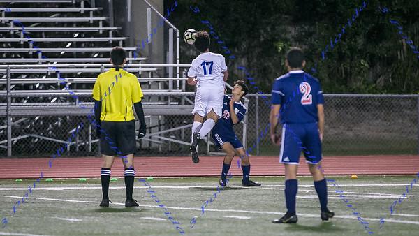 LBHS V Soccer vs Lyman - Jan 14, 2019