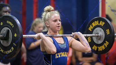 LBHS Weightlifting vs Lyman - Oct 31, 2018