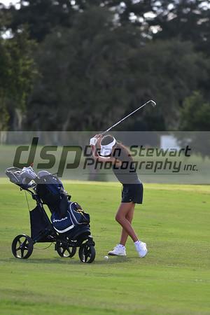 Girls Golf 9-13-18