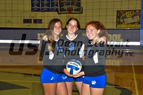 Lyman Girls Freshman Volleyball 9-25-28