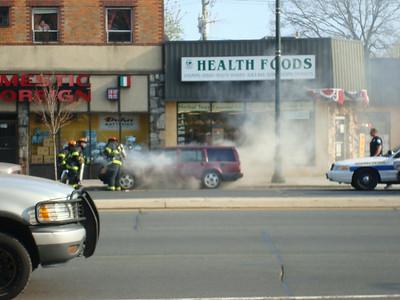 Car Fire 4/26/08