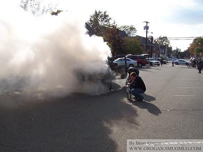 Car Fire Penninsula and Earle 10-23-10