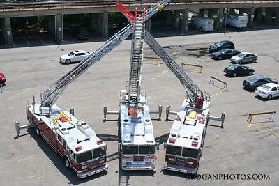 Ladder 428 Wetdown and Firehouse housewarming