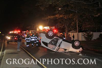 Overturn Peninsula Blvd & Rockaway Ave 10/21/14