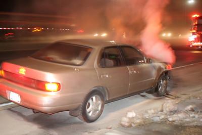 Sunrise Hwy Car Fire 2-13-11